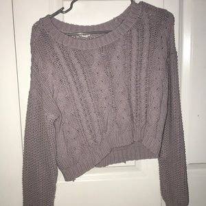 Purple (Lilac) Knit Sweater- Garage